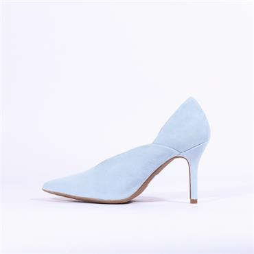 Marian Suede Pointed Toe High Heel Cira - Light Blue